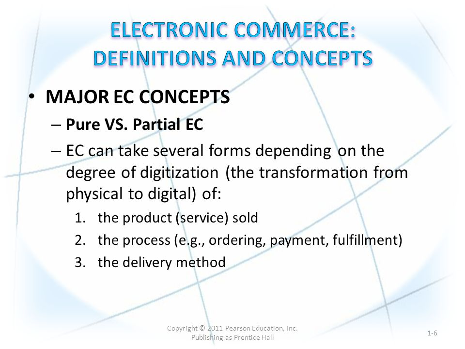 Potential for increased revenue: - reach to a larger customer base - encouraging loyalty and repeat purchases among existing customers Cost reduction achieved through delivering services electronically.