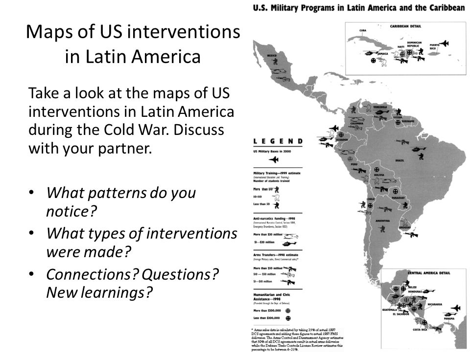 us intervention in latin america essay A treaty that the united states made with great britain in which great britain agreed to abrogate an earlier treaty made in 1850 that stated that great britain and the united.