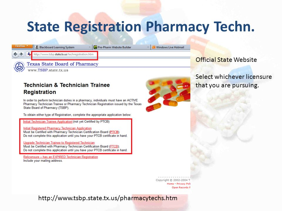 How to become a Pharmacy Technician Presented by the PPA Officers ...