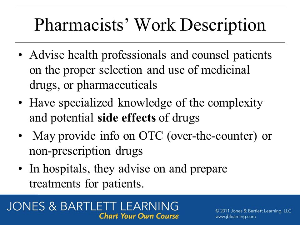 a career description pharmacist American college of clinical pharmacy (accp) - an international association of clinical pharmacists dedicated to optimizing drug therapy outcomes in patients by promoting excellence and innovation in clinical pharmacy practice, research, and education.