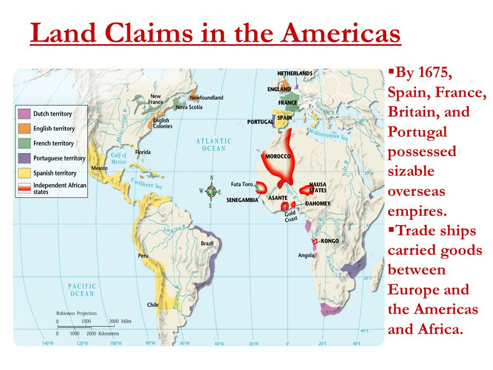 americas from 1450 1750