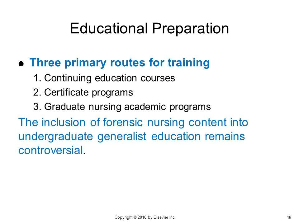 the shortage of educationally prepared nursing