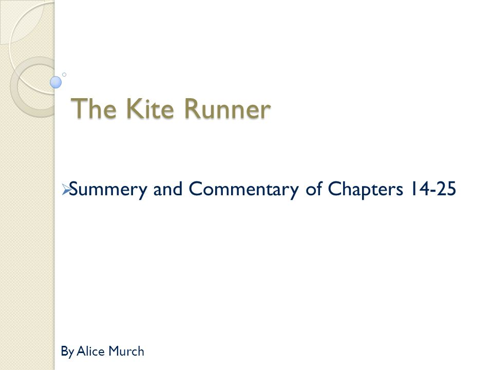 essay on kite runner atonement Khaled hosseinis the kite runner shows how the persistent and sense of atonement for can be found in our international baccalaureate world literature.