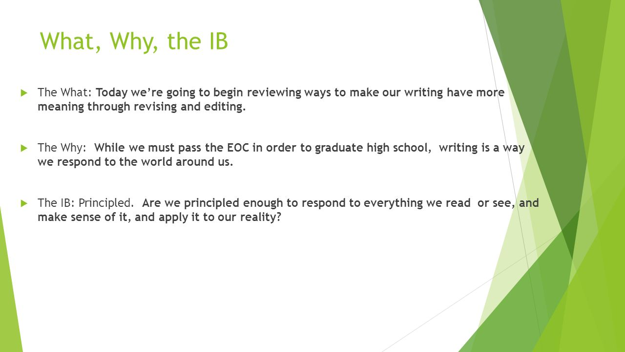 Can you start the IB Programme late?