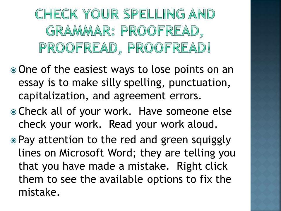 essay punctuation checker