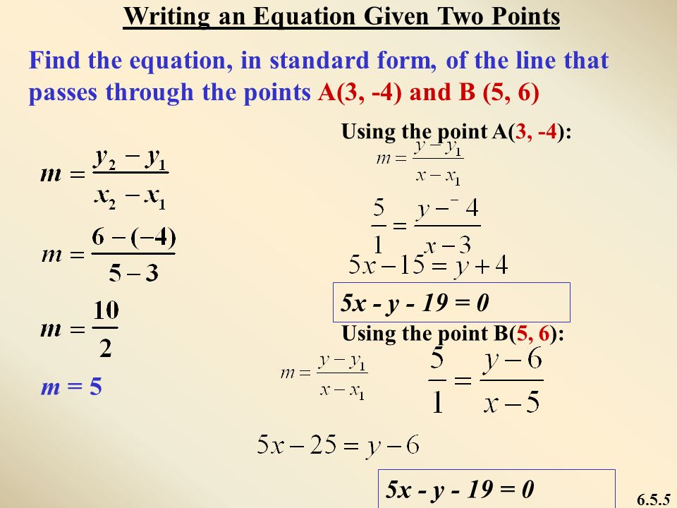 MATHPOWER TM 10, WESTERN EDITION Equations of Linear Relations ...