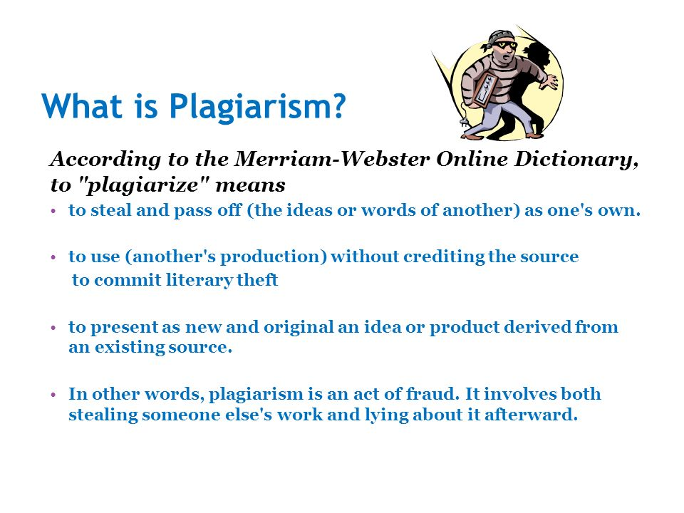 Essays On Plagiarism