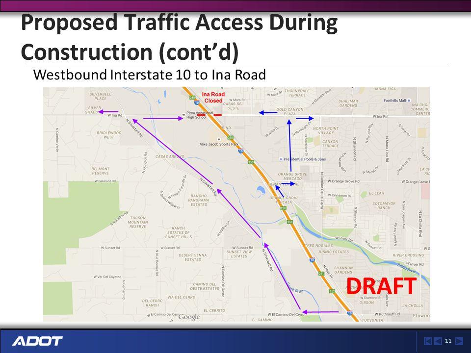 11 Ina Road Traffic Interchange Project Update Marana Chamber Of