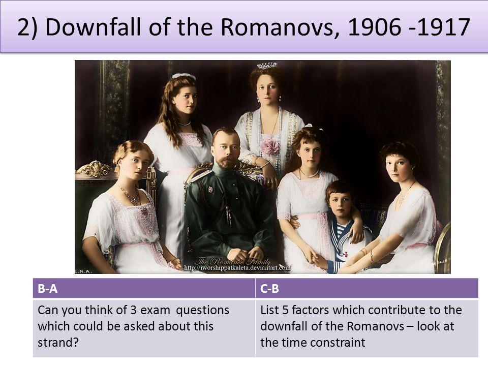 downfall of the romanovs essay The abdication of tsar nicholas ii - mit.