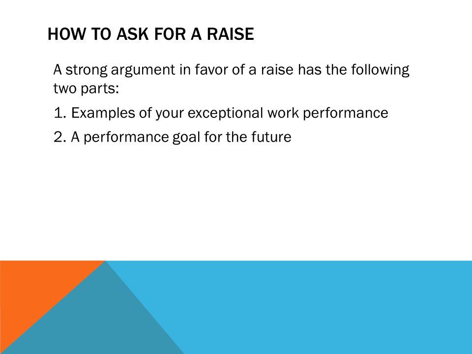 raise at work