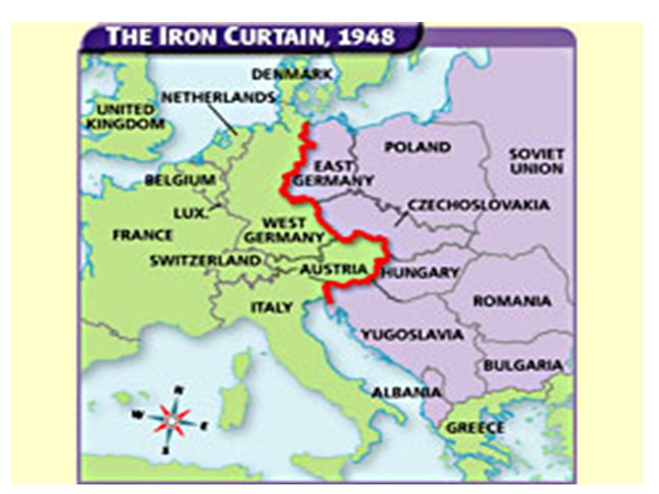 Countries behind the iron curtain 2