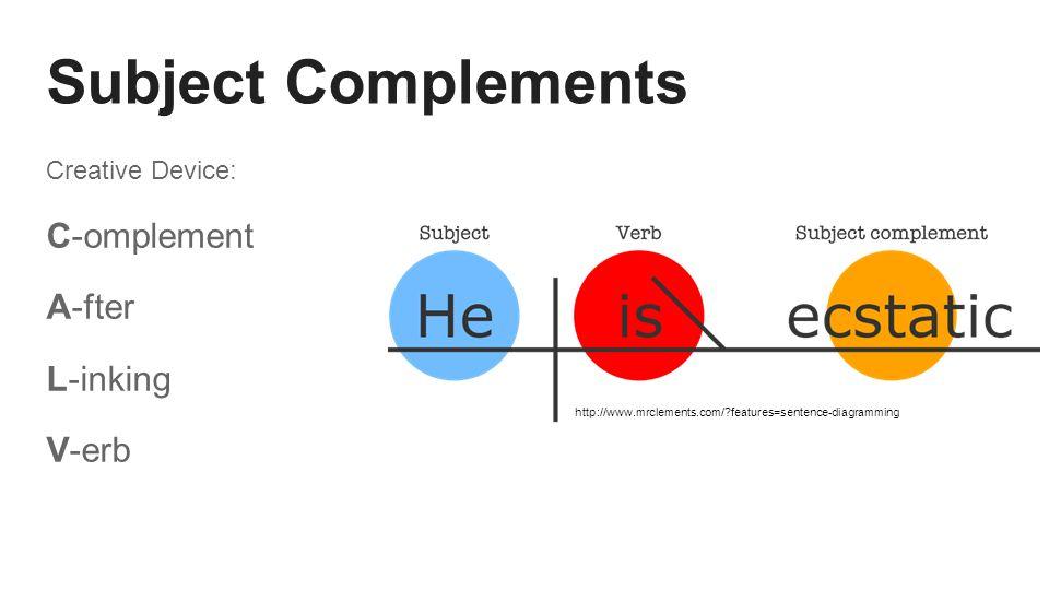 Predicate nominatives predicate adjectives matt hermann jackson 4 subject complements ccuart Images