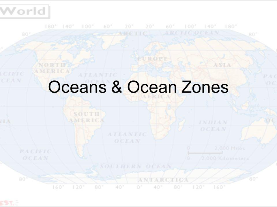 Oceans Ocean Zones Oceans There Are Oceans Pacific Atlantic - All 5 oceans