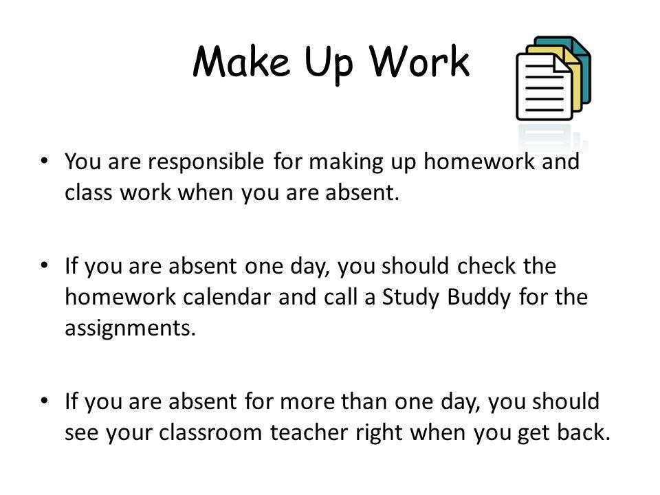 Make up homework