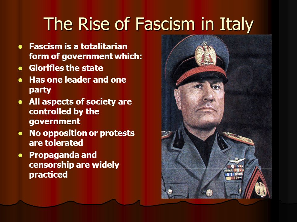 the rise of fascism Sir martin gilbert is the official biographer of winston churchill and a leading historian on the twentieth century, who, in his 88 books.