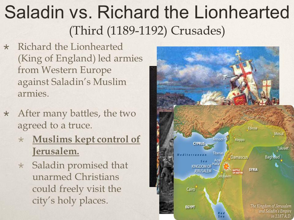 Saladin vs.
