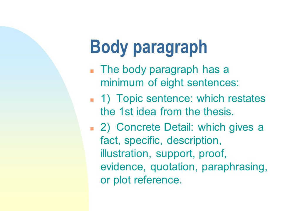 writing illustrative essays You may want to review the general essay writing section on essay research before beginning your illustrative essay illustrative essays may contain both brief and.