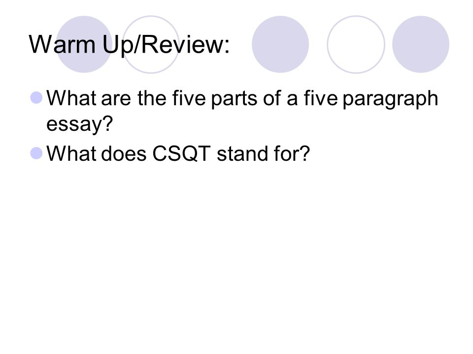informative essay quiz