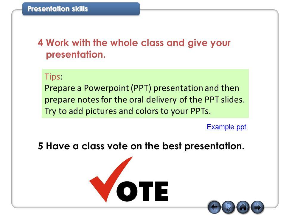 4 Presentation ...