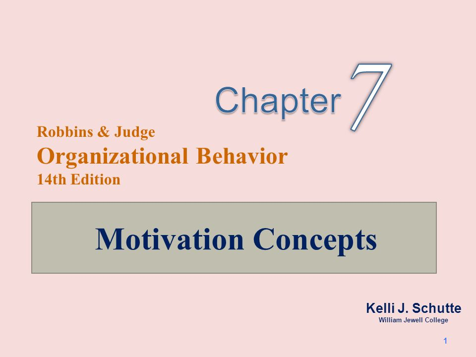 1.Describe the three key elements of motivation 2.Identify early theories of motivation and evaluate their applicability today.