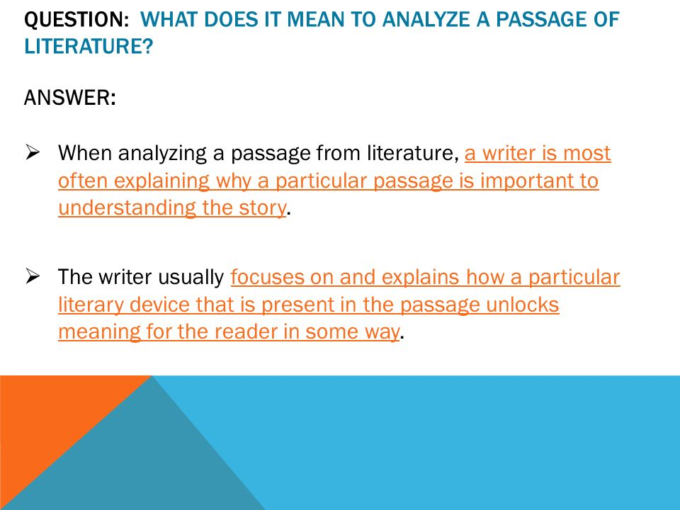 Analyzing Text Structure Passage Work Mats by T's Teaching Tools
