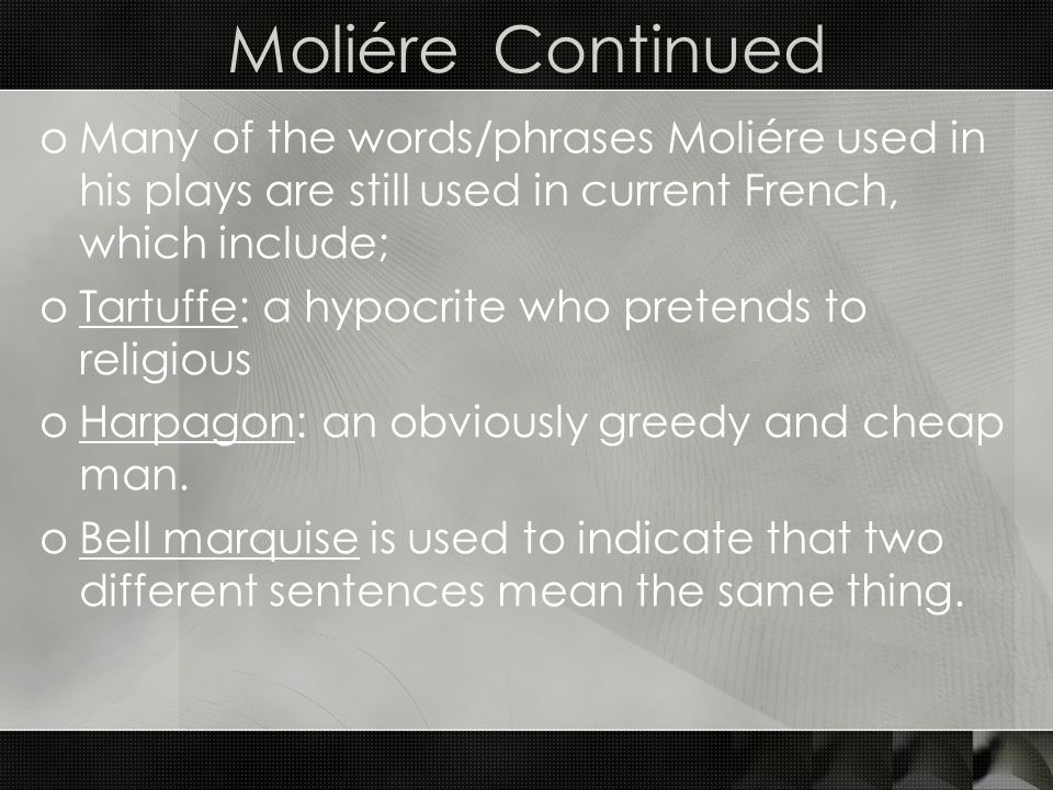 enlightenment pope and moliere