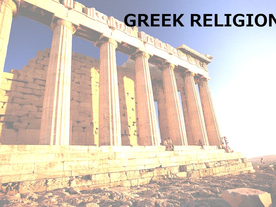 GREEK RELIGION Ancient Greek Gods Zeus Ruler Of The Mount - Greek religion
