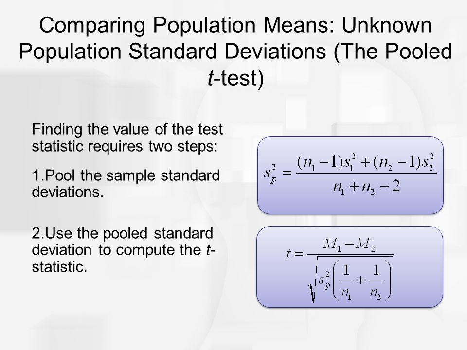 Chapter 10: The t Test For Two Independent Samples. - ppt download