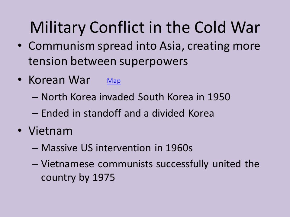 The Cold War Causes Communist Regimes Launched Global Conflict - Map of us intervention global cold war