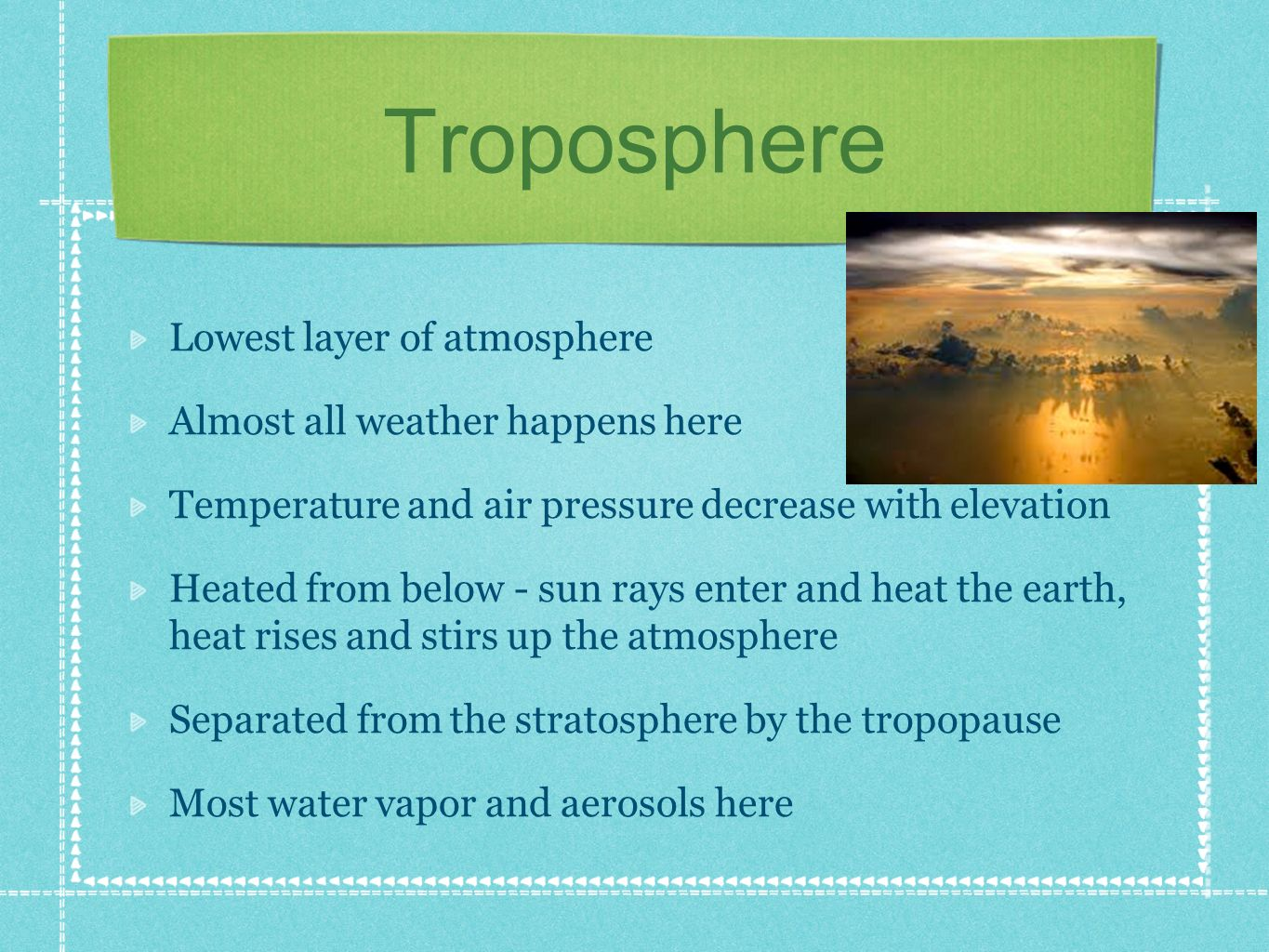 The Atmosphere Layers Whats The Atmosphere Made Of Nitrogen - What's the elevation here