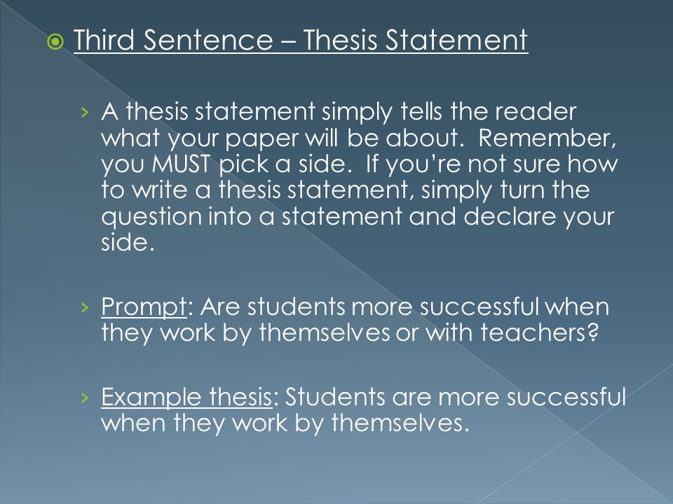 how to write a thesis statement for a research paper Task #1: understand the purpose of the research statement the primary mistake people make when writing a research statement is that.