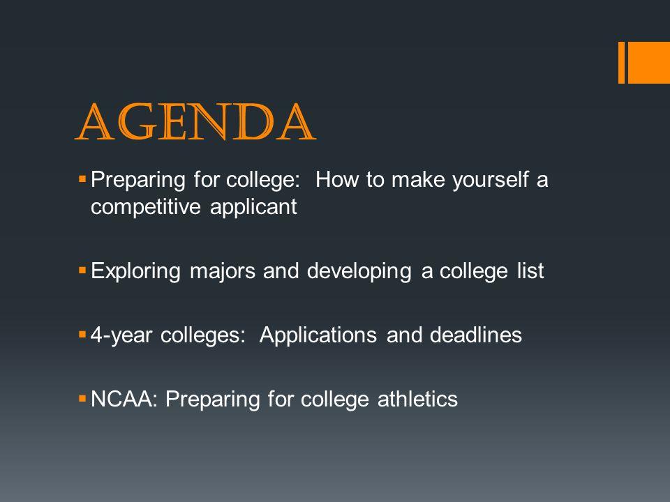 How do you get into a college under 18?