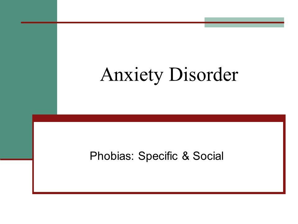 Preparedness theory of phobias