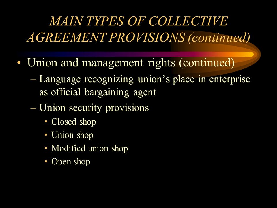 Bargaining structure the negotiating process and the collective 22 main platinumwayz