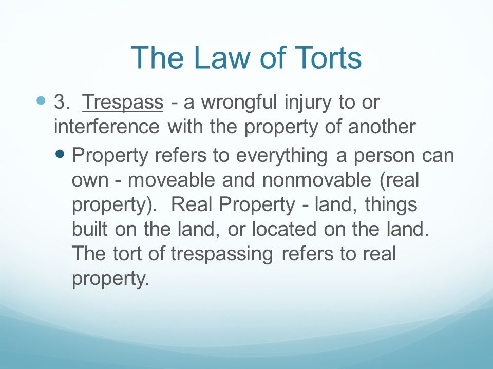 describe the four 4 objectives of tort law What is the difference between tort law and crime law follow  7 answers 7 report abuse are you sure you want to delete this answer yes no.