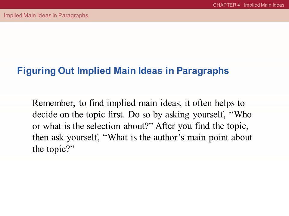 Implied Main Idea Worksheet Free Worksheets Library – Implied Main Idea Worksheet