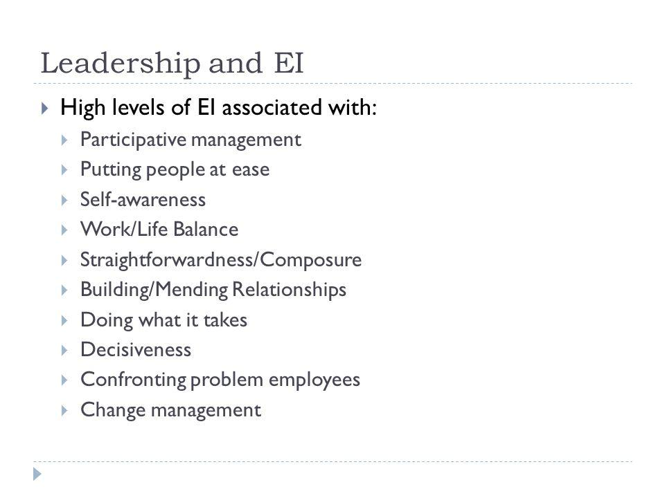 Dissertation emotional intelligence leadership