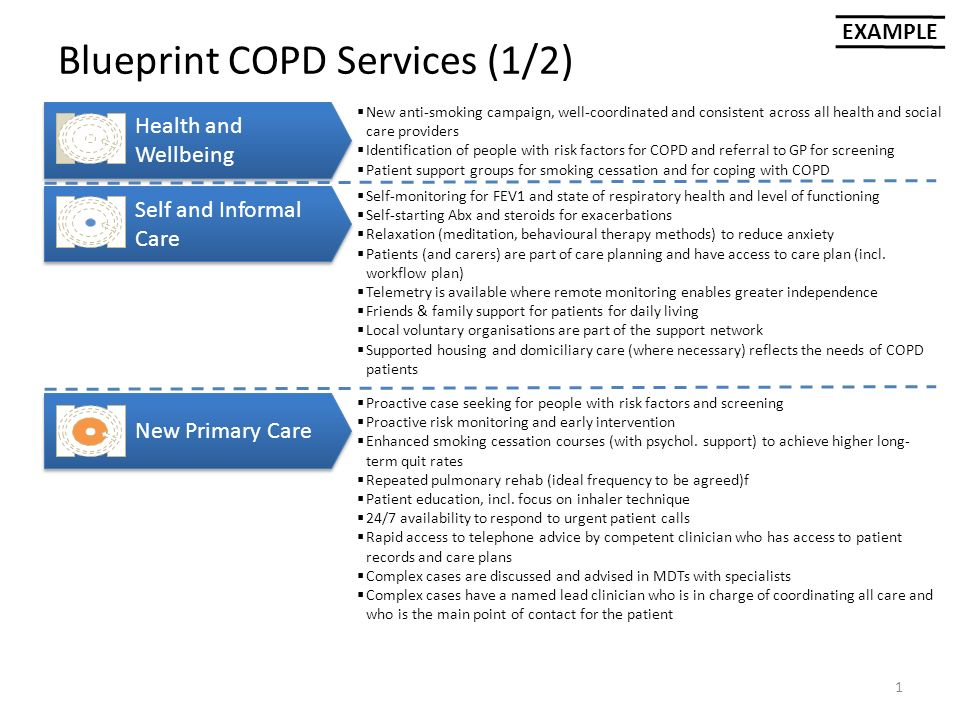 Blueprint copd services 12 1 health and wellbeing self and blueprint copd services 12 1 health and wellbeing self and informal care malvernweather Images