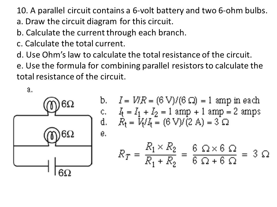 ohm s law sample problems