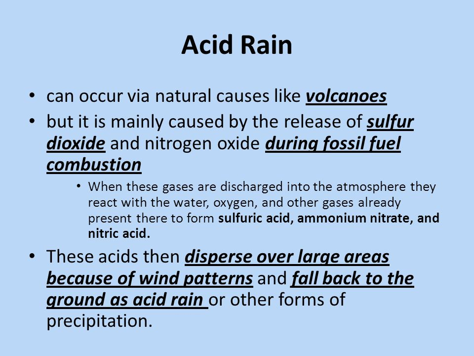 acid rain investigation 2 essay This technique can also be used for investigations into the effect of acid rain student sheet 5 - investigating seed germination student sheet 5 - investigating.