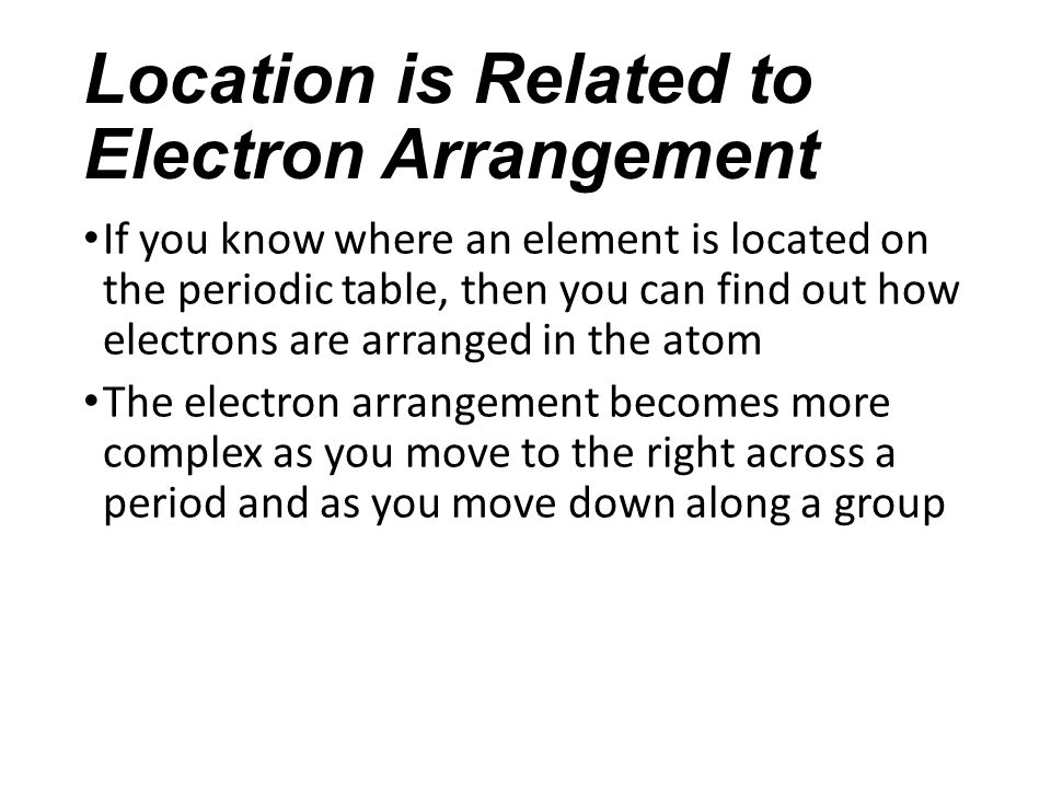 Exploring the periodic table chapter 52 notes the role of 3 location urtaz Images
