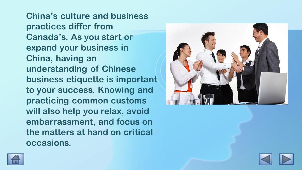 a comparison of culture in america and china Due to cultural differences, negotiations in the global arena are fraught with pitfalls in this article, we examine the characteristics prevalent in the negotiation styles of americans (usa) and chinese (china).