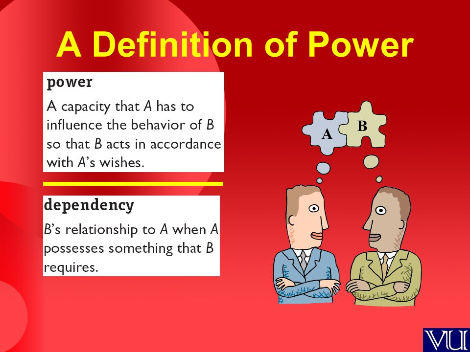 A Definition of Power A B
