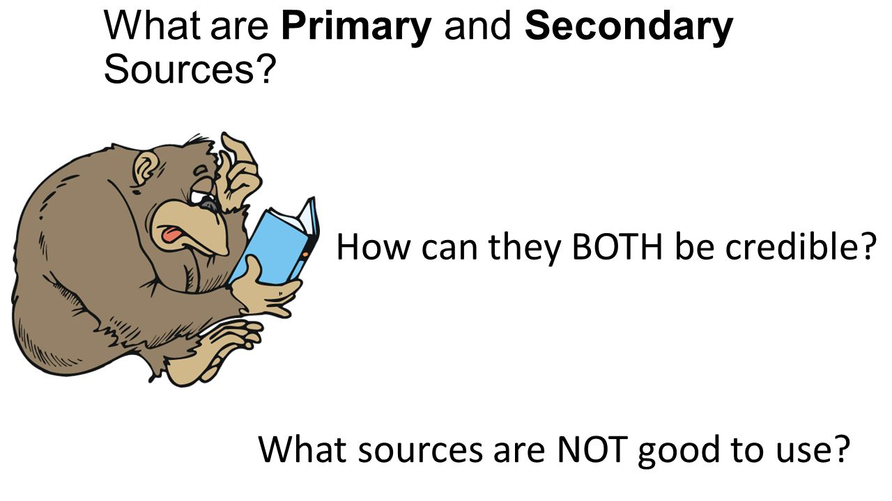 What are some good websites for secondary sources?