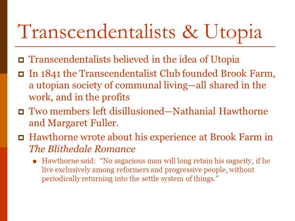 transcendentalist essay