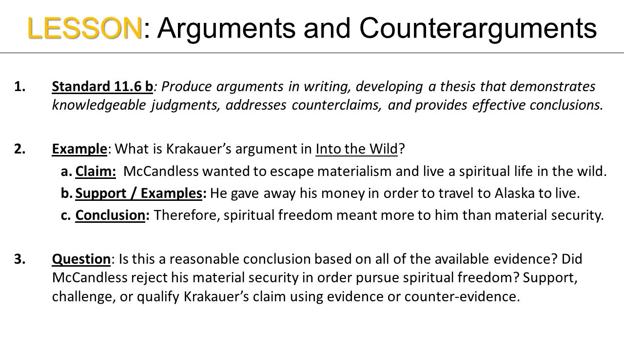 support thesis compelling arguments counterarguments Explain how you plan to support your thesis statement with compelling arguments and counterarguments submit your thesis thesis statement with compelling.