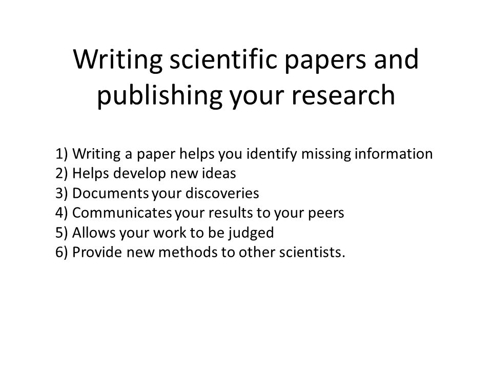 write science research paper How you improve your chances by using scientific research paper help using a sample of a writing assignment may seem not the most straightforward way to increase your chances of successfully completing a writing assignment, but our experience shows that it certainly works.