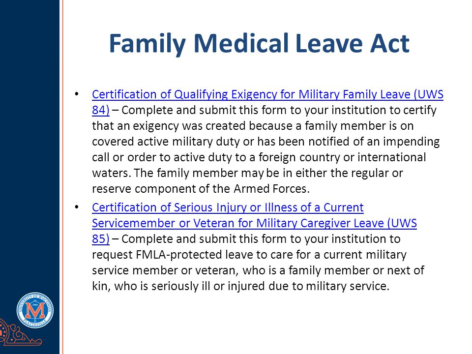 Family Medical Leave Act What Is Fmla  Fmla Refers To The