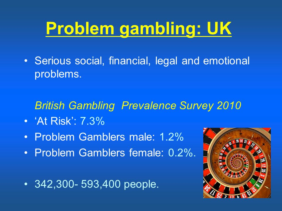 problem gamblers Unlike most casual gamblers who stop when losing or set a some people with a compulsive gambling problem may have remission where they gamble less or not at all.