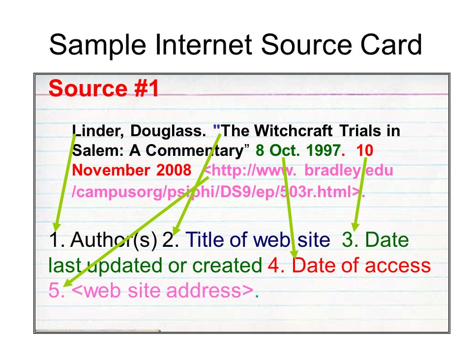 internet sources for a research paper This video explains how to use google scholar to find research papers to use as the background of your experiment and as sources in your paper table of cont.
